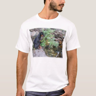 Nikita the Rottweiler pond gazing T-Shirt