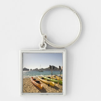 Nikki Beach, Me Resort by Melia Cabo, Cabo San Silver-Colored Square Keychain