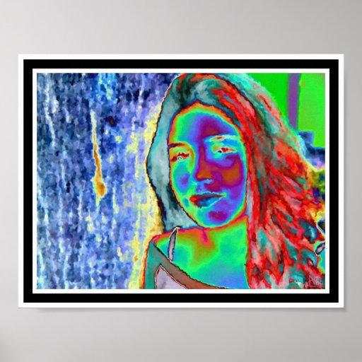 Nikki de neón póster