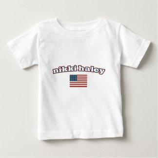 Nikki Haley American Flag Baby T-Shirt