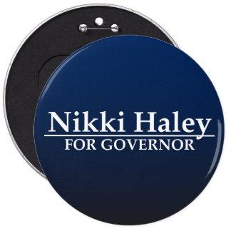 Nikki Haley for Governor Button