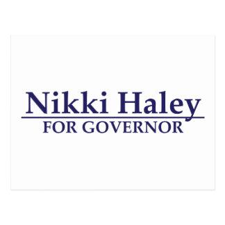 Nikki Haley for Governor Postcard