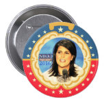 Nikki Haley for President 2016 Pinback Buttons