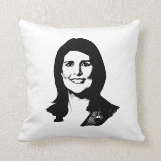Nikki Haley.png Pillow