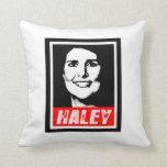 NIKKI HALEY STAMP.png Pillow