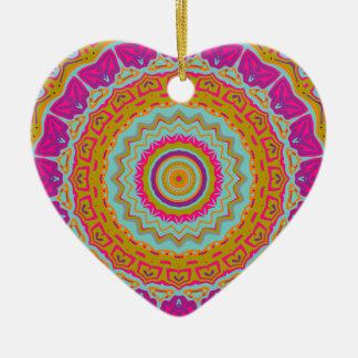 Nikki Kaleidoscope Ceramic Ornament