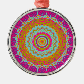 Nikki Kaleidoscope Metal Ornament