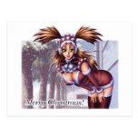 Nikki - navidad del animado postales