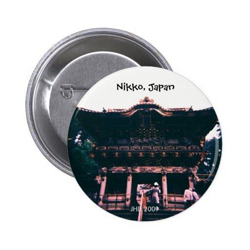 Nikko, Japan 02 Button Pin
