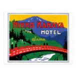 Nikko Kanaya Hotel Japan Postcard