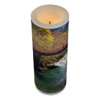Nikko National Park, Japan Wrapped LED Candle