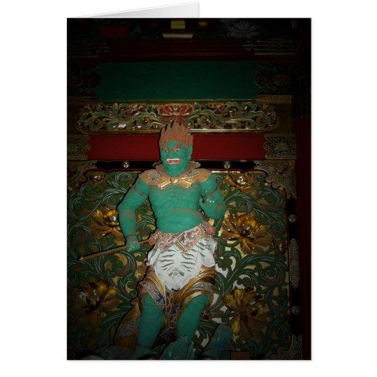 Nikko Temple Guardian Card