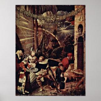 Niklaus Manuel - decapitación de San Juan Bautista Poster