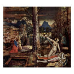 Niklaus Manuel - Thisbe Pyramus and Print