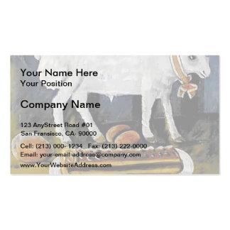 Niko Pirosmani- A paschal lamb Business Card