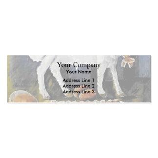Niko Pirosmani- A paschal lamb Business Cards