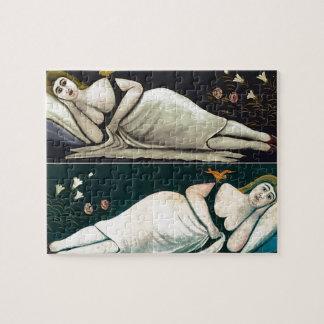 Niko Pirosmani- Ortachali Beauty Jigsaw Puzzles