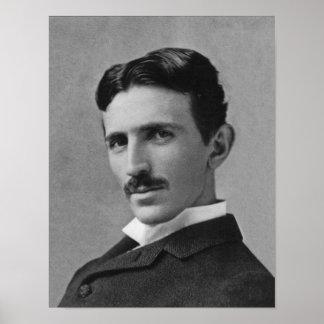 Nikola Tesla, 1894 Poster
