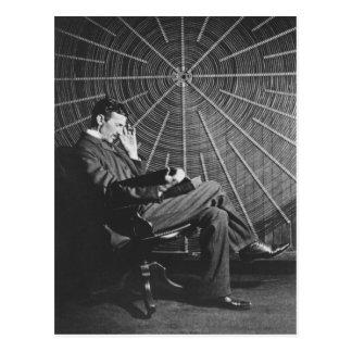 Nikola Tesla, 1896 Post Cards