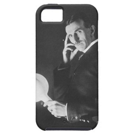 Nikola Tesla, 1898. Funda Para iPhone 5 Tough