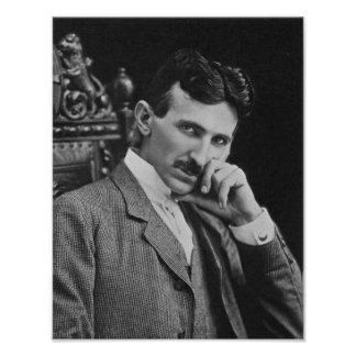Nikola Tesla, 1904 Poster