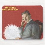 Nikola Tesla Alfombrilla De Ratones