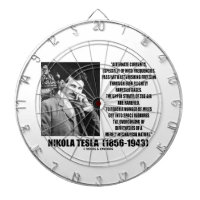 Nikola Tesla Alternate Currents Mechanical Nature Dart Boards