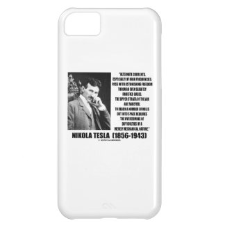 Nikola Tesla Alternate Currents Mechanical Nature iPhone 5C Case
