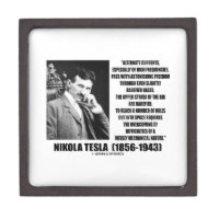 Nikola Tesla Alternate Currents Mechanical Nature Premium Gift Box