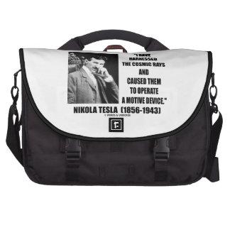 Nikola Tesla aprovechó el dispositivo de los rayos Bolsas Para Ordenador