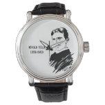 Nikola Tesla Art Vintage Wrist Watch
