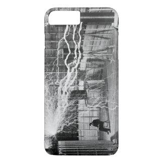 Nikola Tesla at his Colorado Springs Lab, 1899. iPhone 7 Plus Case