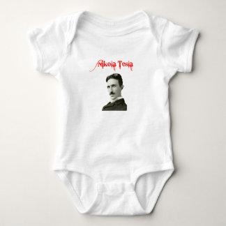 Nikola Tesla Baby Onsie Baby Bodysuit