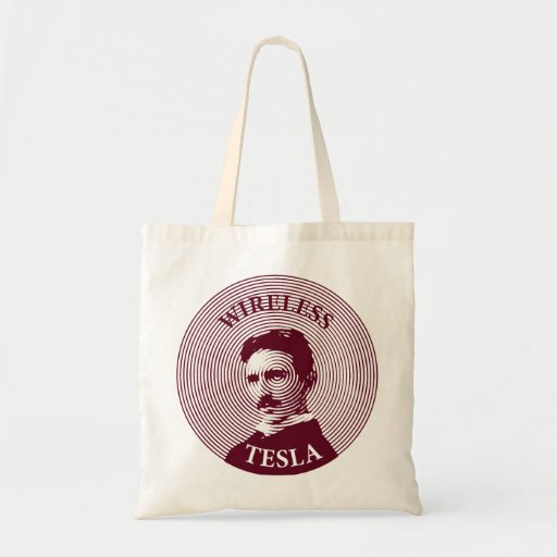 Nikola Tesla Budget Tote Bag