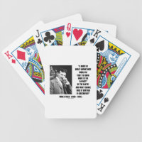 Nikola Tesla Capacity Of Earth Charge Electrified Bicycle Playing Cards