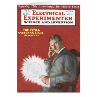 Nikola Tesla Greeting Cards