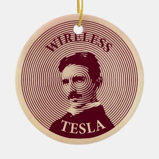 Nikola Tesla Christmas Ornament