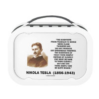 Nikola Tesla Clear Thinkers Sane To Think Clearly Replacement Plate