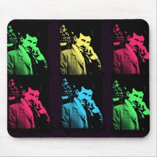 Nikola Tesla Collage Mouse Pad