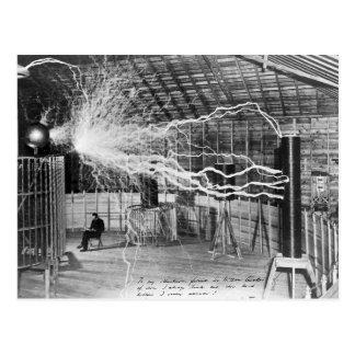 Nikola Tesla, Colorado Springs, 1899 Postales
