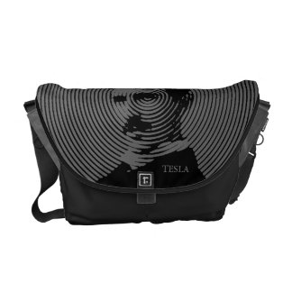 Nikola Tesla Courier Bag