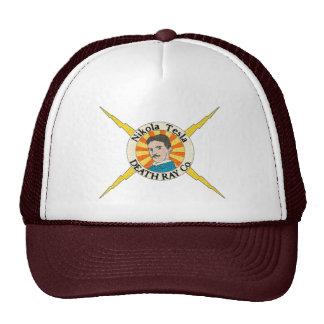 Nikola Tesla Death Ray Co Hats