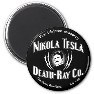 Nikola Tesla Death-Ray Co. Magnet