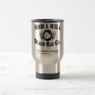 Nikola Tesla Death-Ray Co. Travel Mug