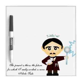 Nikola Tesla Dry Erase Whiteboards