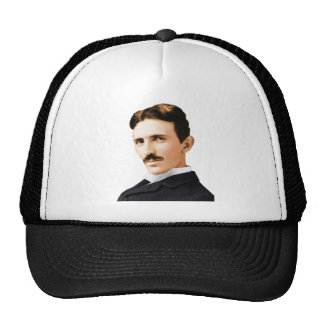 Nikola Tesla Electrical Genius Trucker Hat