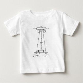 Nikola Tesla Energy Transmission Pantent US1119732 Baby T-Shirt