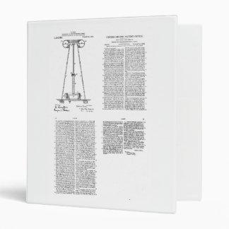 Nikola Tesla Energy Transmission Pantent US1119732 Binder