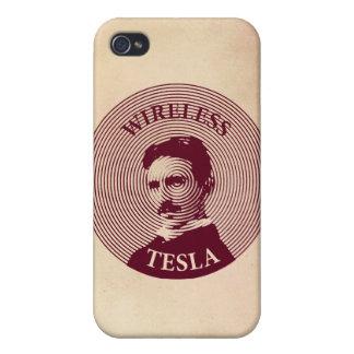 Nikola Tesla iPhone 4 Cárcasas