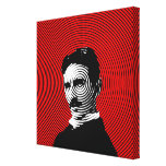 Nikola Tesla Gallery Wrapped Canvas
